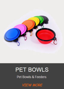 Pet dog cat bowls products factory