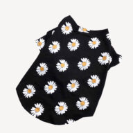 Newest Custom Print Logo Small Daisies Pet T-shirt Luxury Dog Clothes Dog Clothes: Shirts, Sweaters & Jackets Apparel