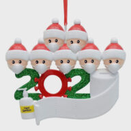 Family Christmas Decoration  Ornament Quarantine Christmas Supplies Christmas decoration (1301) christmas car accessories