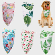 Large Dog Bandana Scarf Collar and Pet Dog Scarf Custom Bandana Dog bandana: Pet bandana & pet accessories Custom Bandana