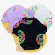 Small Dog Cat Cool Pet Clothing Cartoon Adult Top Dog Parent-child Clothing 06-0459 Dog Clothes: Shirts, Sweaters & Jackets Apparel 06-0459-1