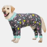 5XL Large Dog Clothes Ropa Para Perros Grandes Printing Winter Pet Accessories 06-1023-1 Dog Clothes: Shirts, Sweaters & Jackets Apparel 06-1023-1